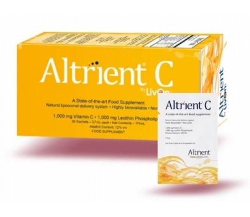 Altrient C, Vitamina C Liposomal, liposomada 30 sobres LIVON LABS