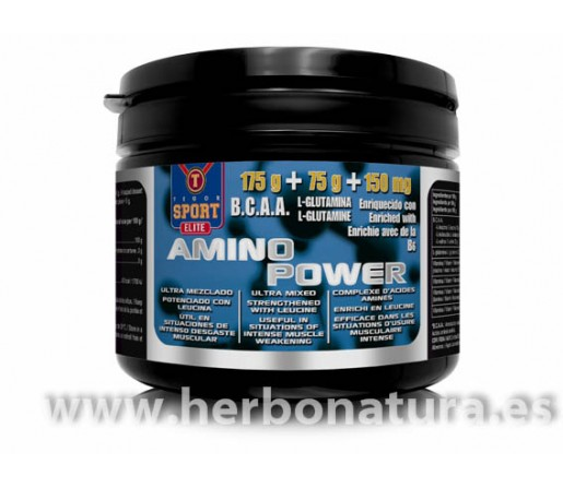 Amino Power BCAA, Glutamina y B6 250gr. TEGOR SPORT