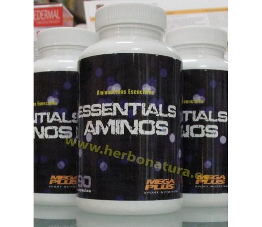 Aminoácidos Esenciales Resistencia, Volumen y Recuperación 90 cápsulas MEGA PLUS