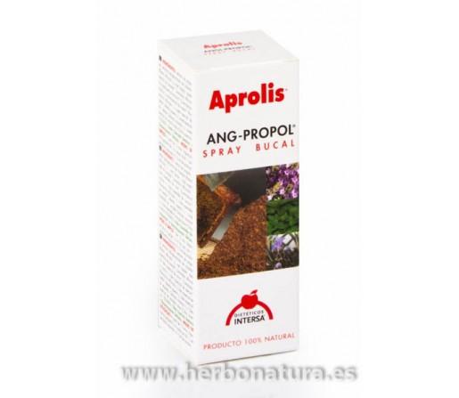 Ang Propol Spray bucal. Con propóleo, miel, lavanda, mirra y ajedrea. 15ml. INTERSA