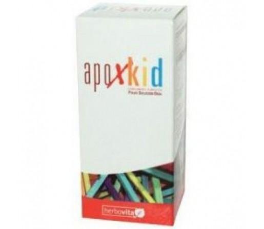 Apoxkid Polvo defensas niños Apolactoferrina, Lactoperoxidasa, Zinc 50gr. HERBOVITA