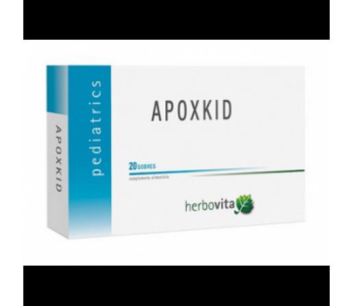 Apoxkid Pediatrics Defensas niños 20 sobres HERBOVITA
