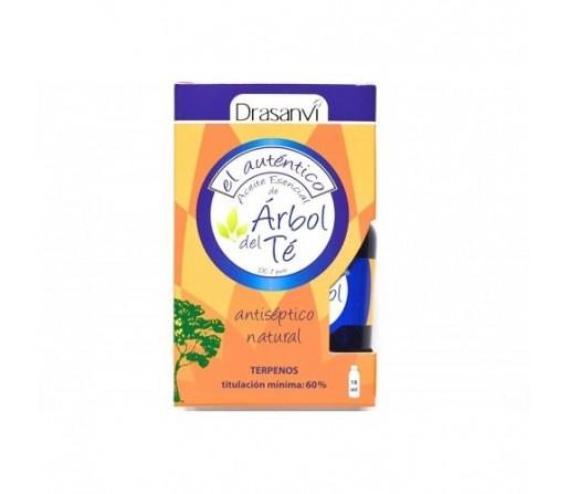 Aceite Esencial Arbol del Té (Melaleuca alternifolia) 18ml. DRASANVI