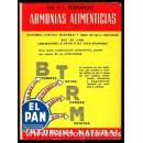 Armonias Alimenticias Libro, Dr. V. L. Ferrándiz CEDEL en Herbonatura.es