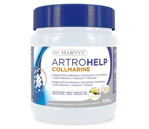 Artrohelp Collmarine, Colágeno marino hidrolizado, glucosamina, condroitina... 350gr. MARNYS