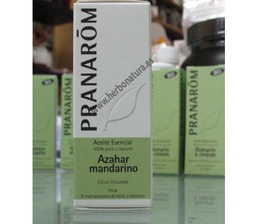 Aceite Esencial Azahar Mandarino Hoja (Citrus reticulata) 5ml. PRANAROM