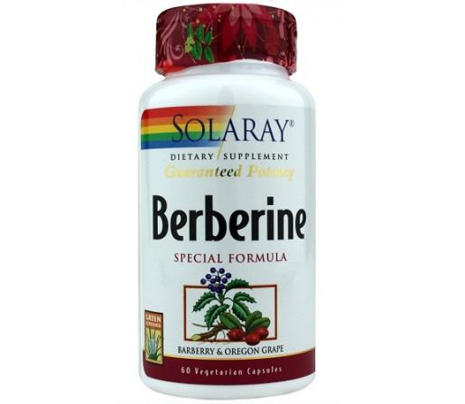 Berberine Berberina 60 cápsulas SOLARAY