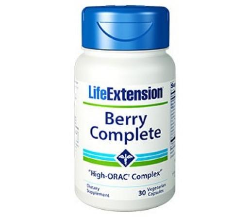 Berry Complete Antioxidante de Frutos rojas y Verduras 30 cápsulas LIFEEXTENSION