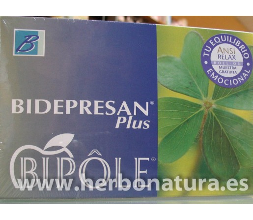 Bidepresan Plus Bipole 20 ampollas INTERSA