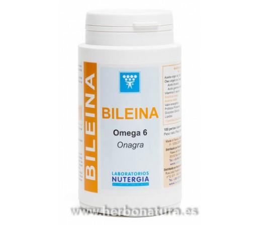 Bileina Onagra Virgen con Vitamina E 100 perlas NUTERGIA