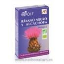 Bipole Rábano Negro y Alcachofa Biológico Digestivo y Depurativo 20 ampollas INTERSA en Herbonatura.es