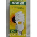 Bombilla Narva Biovital 23w (100w) en Herbonatura.es