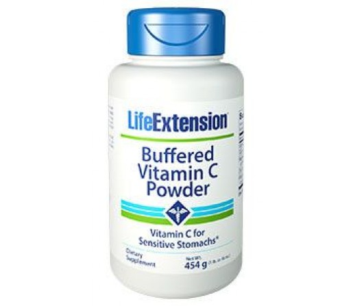 Vitamina C Buffered Powder para estómagos sensibles 454gr. LIFEEXTENSION