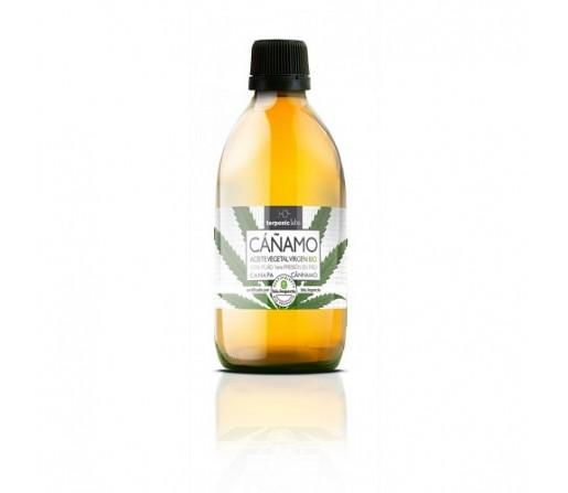 Aceite de Cáñamo Ecológico, Cannabis Sativa Virgen de primera presión en frío 100ml. TERPENIC LABS