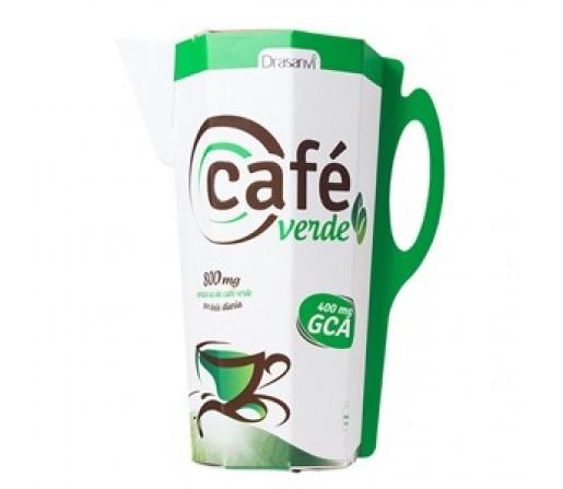Café Verde Liquido 400mg. de GCA, 500ml. DRASANVI