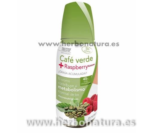 Café Verde Sin Cafeina con Cromo Triestop 250ml. ELADIET