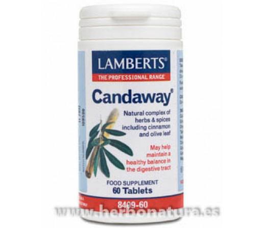 Candaway Candida 60 comprimidos LAMBERTS
