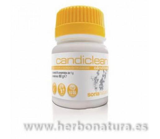 Candiclean Aceite Orégano y Clavo 60 comprimidos, SORIA NATURAL