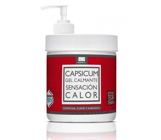 Capsicum Gel Calmante Sensacion Calor 500ml. TERPENIC MEDICAL