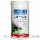 Cardo Mariano Milk Thistle Depuración 90 comprimidos LAMBERTS en Herbonatura.es