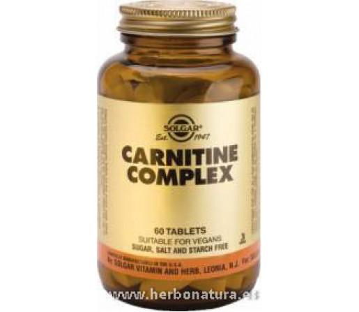 Carnitina Complex 60 Comprimidos SOLGAR