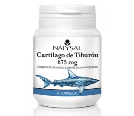 Cartílago de Tiburón 675mg. 60 cápsulas NATYSAL
