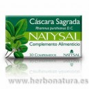 Cáscara Sagrada 30 comprimidos NATYSAL en Herbonatura.es