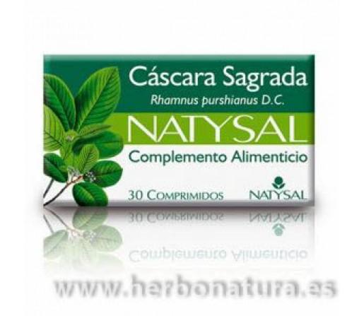 Cáscara Sagrada 30 comprimidos NATYSAL