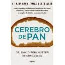 Cerebro de Pan Libro, Dr. David Perlmutter y Kristin Loberg GRIJALBO en Herbonatura.es