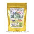 Chlorella Polvo Ecológica 125gr. mundo arcoiris SUPERALIMENTOS en Herbonatura.es