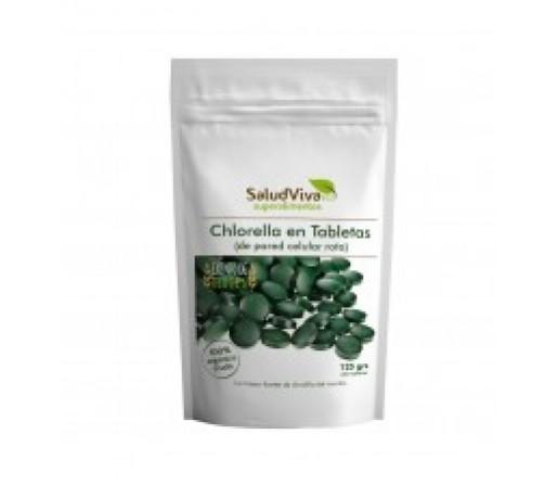 Chlorella Pastillas Ecológica 125gr. 260 tabletas SALUD VIVA