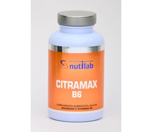 Citramax B6 Citrato de magnesio 240 cápsulas NUTILAB
