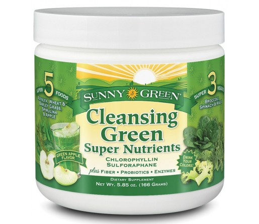Cleansing Green Super Nutrientes Alcalinizante Nutraceutical 166gr. SOLARAY