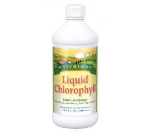Clorofila Líquida Chlorophyll Sunny Green 480ml. SOLARAY