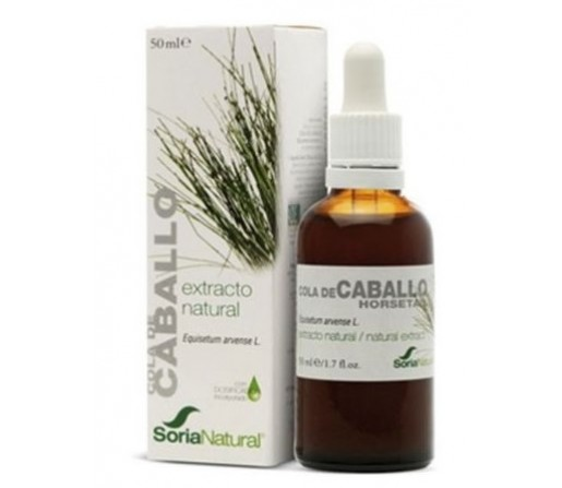 Extracto Cola de Caballo Equisetum arvense L 50ml. SORIA NATURAL