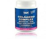 Colágeno Complex MSM, Acido Hialurónico, Magnesio y Vitamina C Naranja 364gr. GSN