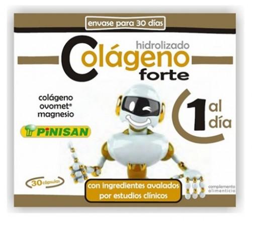 Colágeno Forte (colágeno, ovomet, magnesio...) 30 cápsulas PINISAN