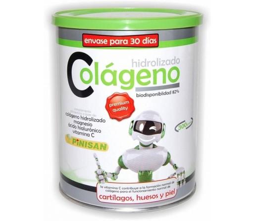 Colágeno Hidrolizado, Magnesio, Acido Hialuronico y Vitamina C 300gr. PINISAN