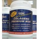 Colágeno Premium MSM, Acido Hialurónico, Magnesio y Vitamina C Naranja 354gr. GSN en Herbonatura.es