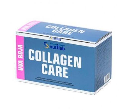 Collagen Care Uva Roja con Estevia, glicina, lisina, arginina... 30 sobres NUTILAB