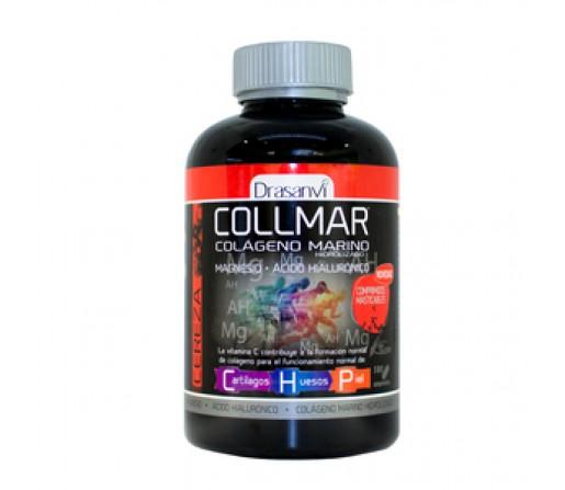Collmar masticables Cereza Magnesio Colageno Marino, Hialurónico... 180 comprimidos DRASANVI