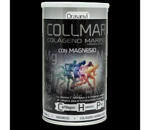 Collmar Magnesio Colageno Marino Hidrolizado, Magnesio y Vitamina C 275gr. DRASANVI