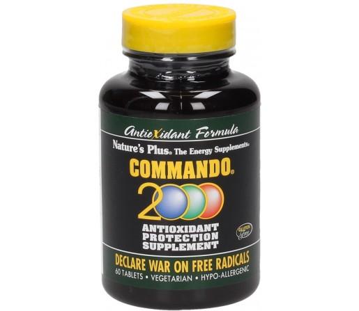 Commando 2000 Multinutriente con Antioxidantes 60 comprimidos NATURES PLUS