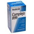 Complejo B99 vitamina B complex 60 comprimidos HEALTH AID