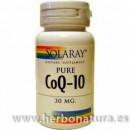 Coenzima Q10. 30mg. 30 perlas SOLARAY