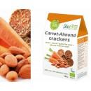 Crackers Raw Zanahoria, Almendras, Girasol germindao y Lino Ecológica 100gr. BIOTONA en Herbonatura.es