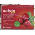 Cranberin Plus Arándano rojo, Probióticos, Gayuba, Bioflavonoides... 15 cápsulas HERBORA