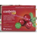 Cranberin Plus Arándano rojo, Probióticos, Gayuba, Bioflavonoides... 15 cápsulas HERBORA en Herbonatura.es