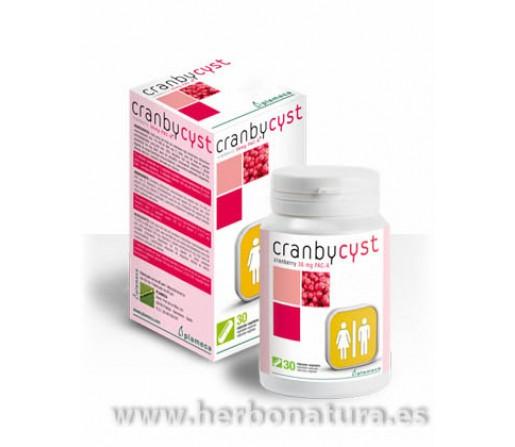 Cranbycyst Arádano vitaminaC y Ortosifón 30 cápsulas PLAMECA
