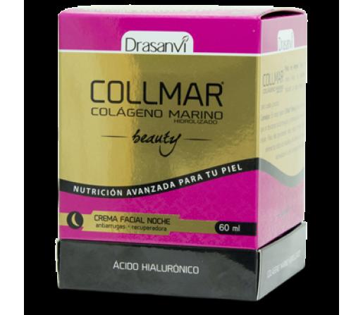 Crema Facial Noche Collmar Beauty Antiarrugas Recuperadora 60ml. DRASANVI